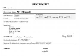 Microsoft Invoice Template Rent Receipt Template Microsoft Office Free House Rental Invoice