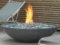 gas fire pit glass unique modern gas fire pit propane gas outdoor fire pit modern