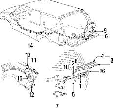 parts com® oldsmobile bravada rear wiper components oem parts 1997 oldsmobile bravada base v6 4 3 liter gas rear wiper components