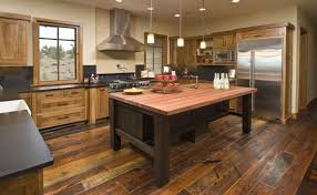 Wood Floor In The Kitchen The Hardest Wood Flooring You Can Buy
