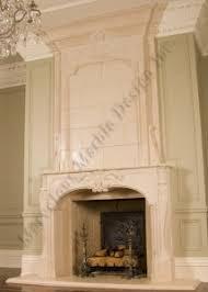Limestone Fireplace Mantels