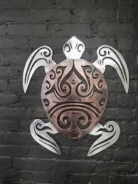 sea turtle cnc metal wall decor metal