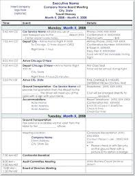 Trip Schedule Template Road Trip Itinerary Template Travel 34222640238 Business Trip
