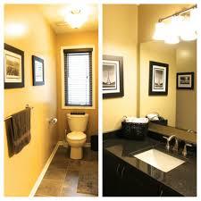 Bathroom  Design Textured Walls In Yellow Bring Warmth To The - Mediterranean style bathrooms