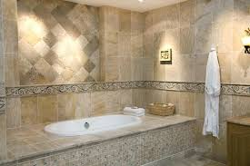 how to tile around a bath decorative stone tub surround tile bathroom walls or floor first how to tile around