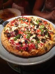 glass nickel vegan pizza