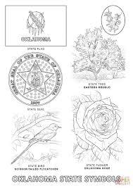 Small Picture Oklahoma State Symbols coloring page Free Printable Coloring Pages