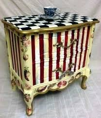 WP Mastery Whimsy Furniture Unique Hand Painted National