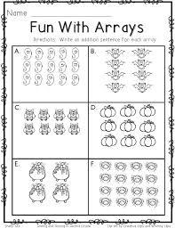 Array-worksheets & ... 2nd Grade Math Arrays Worksheets ...