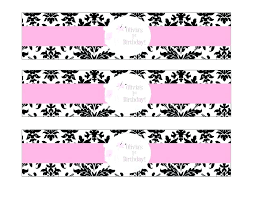 Wedding Label Templates Printable Wedding Water Bottle Labels Free Templates Download Them