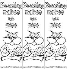 There is nothing like an appropriate bookmark to prompt a child to turn the pages! Bookmarks Coloring Pages Coloring Home