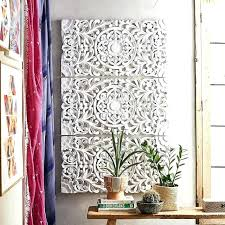 white carved wood wall art wood wall decor peachy ideas white wood wall decor plus ornate white carved wood wall art