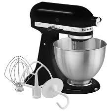 kitchenaid classic stand mixer 4 5qt 250 watt onyx black stand mixers best canada