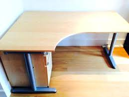 ikea galant office desk. Ikea Gallant Desk Left Corner Office Table Extension For Sale White  Galant 18222 .