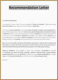samples of a letter of recommendation template letter recommendation f6fd97ab6ed1 thegimp