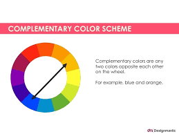 Complementary Color Scheme Complementary Colors Within Pairs Of Complementary  Colors