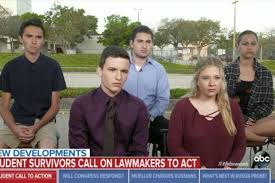 florida massacre survivors demand gun florida school massacre survivors plan march on us cities over gun
