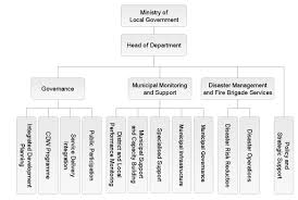 Chart Organization Of Local Government Department Of Local Government Organisational Structure