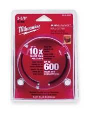 milwaukee hole hawg bits. item 5 milwaukee 49-56-9065 big hawg (r) hole cutter, dia 6 1/4 - bits