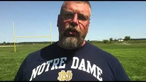 Tippecanoe Valley High School football coach Jeff Shriver - YouTube