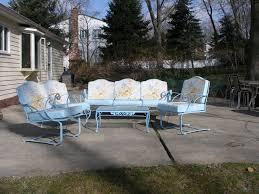 woodard meadowcraft vintage patio