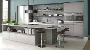 Gloss Kitchen In Grey Gloss Handleless Kitchen Shown In Grey But - Kitchens and more