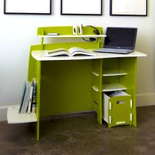 wonderful decorations cool kids desk. Wonderful Cool Green And White Color Combination Of Simple Wooden Desk Desks For Teenagers Room Decorations Kids