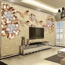 custom photo wallpaper 3d living room tv sofa european jewelry flower large mural 3d wall murals