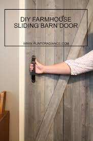 Diy Barn Doors Diy Sliding Barn Door