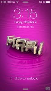 preview of pink graffiti for name mari