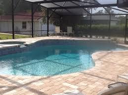 patio paver pool deck