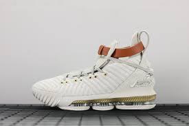 Light Bone Nike Lebron 16 Harlems Fashion Row Sail Light Bone White