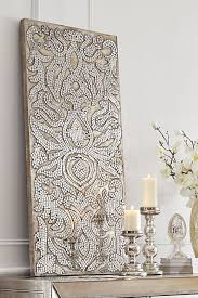mirrored damask panel from pier 1