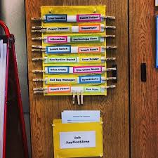 First Grade Classroom Job Chart Classroom Job Charts 38 Creative Ideas For Assigning