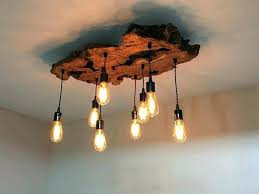 cabin chandelier rustic chic globe log chandeliers linear distressed wood aw archived on lighting setup