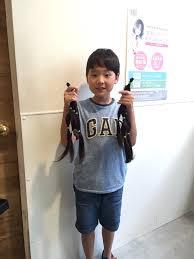 ヘアドネーションって知っている 男の子が髪の毛を寄付してみた