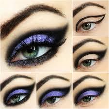edgey eyeshadow look