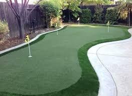 homemade putting green backyard build indoor practice