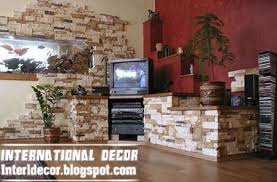 Small Picture Interior Design 2014 Interior stone wall tiles designs ideas