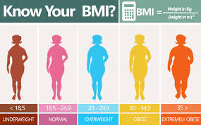 bmi chart for weight loss
