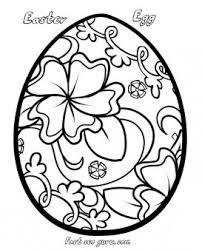 Print Out Easter Egg Decorating Coloring Pages Printable Coloring