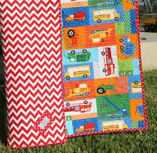 SALE LAST ONE Transportation Baby Quilt Toddler Quilt & 🔎zoom Adamdwight.com