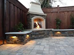 outdoor fireplace kits home and furniture glamorous gas of propane vs natural for an