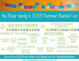 2016 summer bucket list challenge sign up today