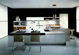 modern kitchen black and white. Kitchen Beautiful Black White Wood Stainless Modern Design Kitchens Ideas Inspiration Minimalist And