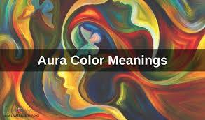 Spiritual Color Chart Aura Colors