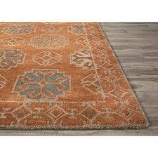 bright orange rugs uk design