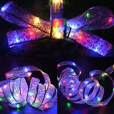 Big Sale D28f1 Led Colorful Bowknot Light String 40 Heads