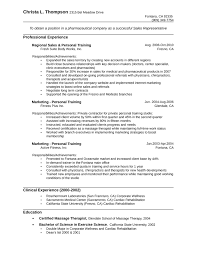 One Page Pharmaceutical Sales Representative Resume