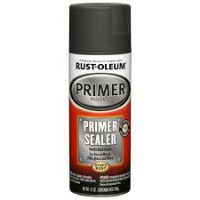 matte gray primer and sealer spray paint 249321 the home depot